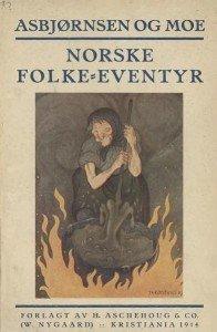 """Couverture de """"Norske Folke eventyr"""""""